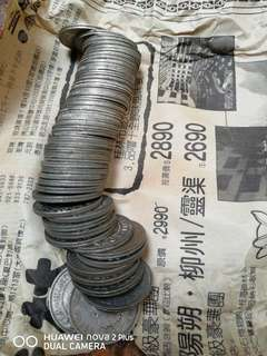 香港五毫子1958-1960-1961-1962-1963-1965-1968--1966-1967- 9@1