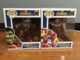 [BUNDLE] Pop Avengers : Infinity War - Hulkbuster & Hulk Bursting Out of Hulkbuster #294 & #306