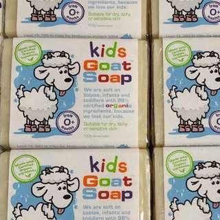 🆕stocks Kids goat soap bar 100g (from 0+months)