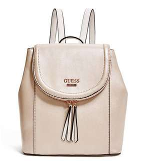 AUTHENTIC GUESS GENOA METALIC BACKPACK