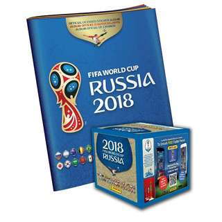 (Shiny for sale) Panini World Cup 2018 sticker collection