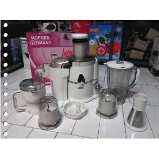 Parcel Lebaran Blender Juicer 7 in 1 Moegen Germany Murah