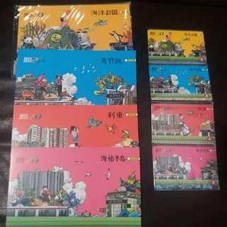 MTR 港鐵紀念車票-南港島線