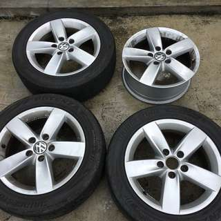 "16"" VW Jetta Stock Rims"
