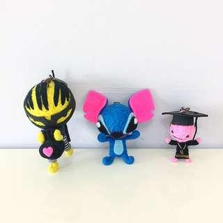 Cute Voodoo Doll Keychains stitch