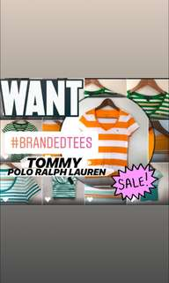 BRANDED TEES SALE (TOMMY/POLO ETC)