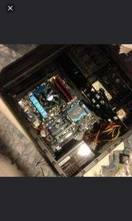 i5 3570k + Asus P8Z77-V + 16GB Ripjaws + Corsair H60