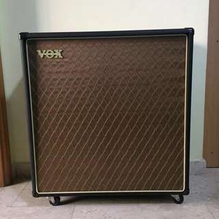 Vox V412BN 4x12 Amp Cabinet 4x Celestion G12 Vintage 30 Speakers For Electric Guitar Amplifier Head Discontinued 2 Stereo 1 Mono