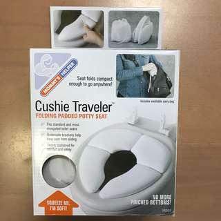 Foldable Padded potty seat