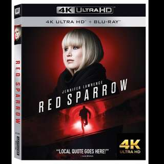[Rent-A-4K-Movie] RED SPARROW (2018)