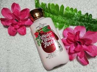 Bath&Body Lotion (Winter Candy Apple)