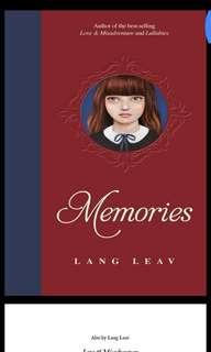 Memories by Lang Leav (SOFT COPY)