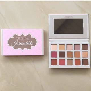 Beauty creations irresistible eye shadow pallete