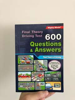 Final Theory Driving Test Book (Questions & Answers)