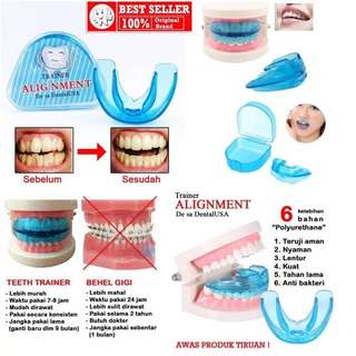 ORTHODENTIC RETAINER TEET TRAINER ALIGNMENT /BEHEL GIGI