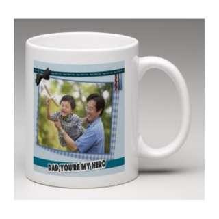 Customized Father's Day Photo Mug (11oz White Mug)