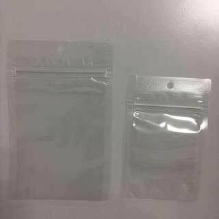 Resealable Transparent Ziplock Bag