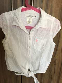 white top for girls