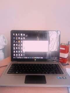 "HP Laptop Pavilion dv5-2074dx Intel Core i3 1st Gen 330M (2.13 GHz) 3 GB Memory 250 GB HDD Intel HD Graphics 14.5"""