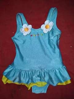 Baju renang anak import Biru
