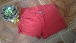 Gold camps shorts