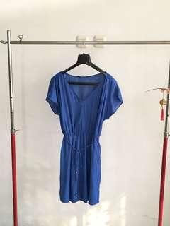 Zara Moroccan Blue Dress