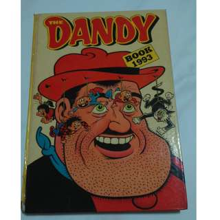*RARE!* Dandy's Collectible Comic (Hard Cover! Thick! Vintage!)