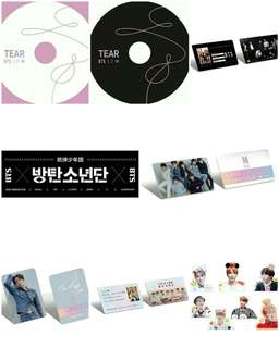 PRE ORDER ARMY BOX BTS TEAR (LIMITED)  SET AND SHARING GOODS