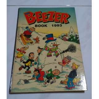 *RARE!* Beezer's Collectible Comic (Hard Cover! Thick! Vintage! From The Same Creators Of Dandy's Comics!)