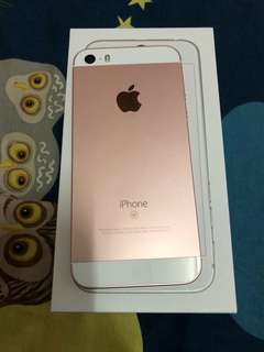 Iphone SE 32 gb Rosegold apple warranty