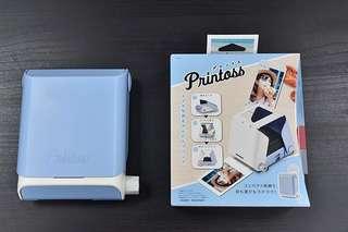 🔹[全新] 日本 Printoss 印相機 藍色🔹