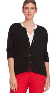 Three Quater Sleeve Round Neck Cardigan