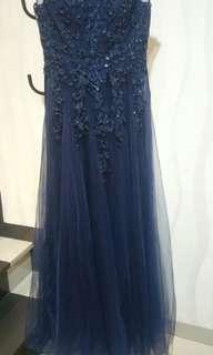 Navy gown 1