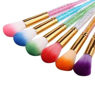 🦋1pc Art Dust Powder Remover Brush UV Gel Nail Brush🦋