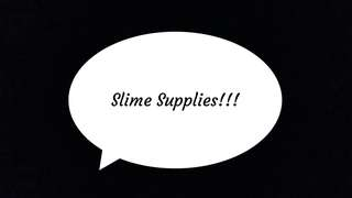 Slime Supplies! Limited