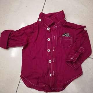 Kemeja bayi (baby shirt)