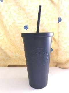 Starbucks brand new cup cold in Matt black