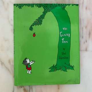 The Giving Tree by Shel Silverstein [hardcover]