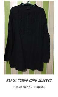 Black Corpo Long Sleeves