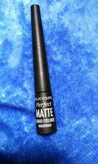 silkygirl perfect matte liquid eyeliner waterproof