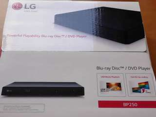 LG BP250 blu-Ray dvd player