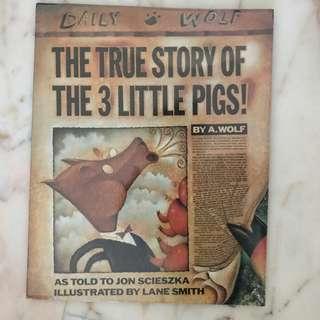 True Story of the Three Little Pigs by Jon Scieszka