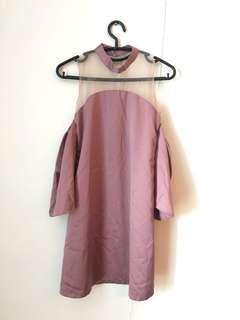 Designers pink dress