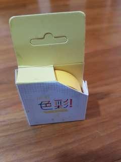🆕️ yellow washi tape