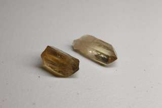 NATURAL CITRINE Crystal Points Set #2
