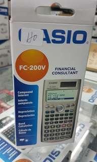 CASIO FINANCIAL CONSULTANT FC 200V