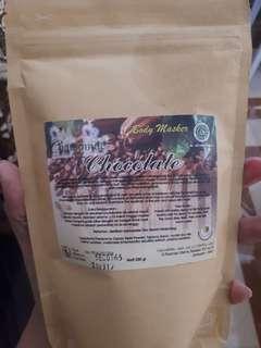 Body masker chocolate