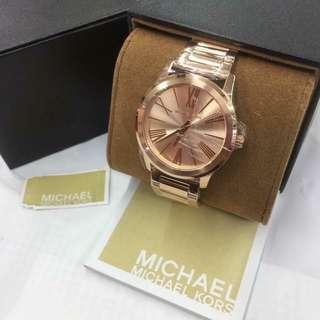 Michael Kors Watch with 1 yr warranty