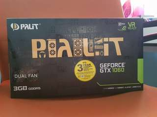PALIT GeForce GTX 1060 3GB Dual Fan