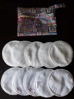 ALVA WASHABLE BREASTPADS